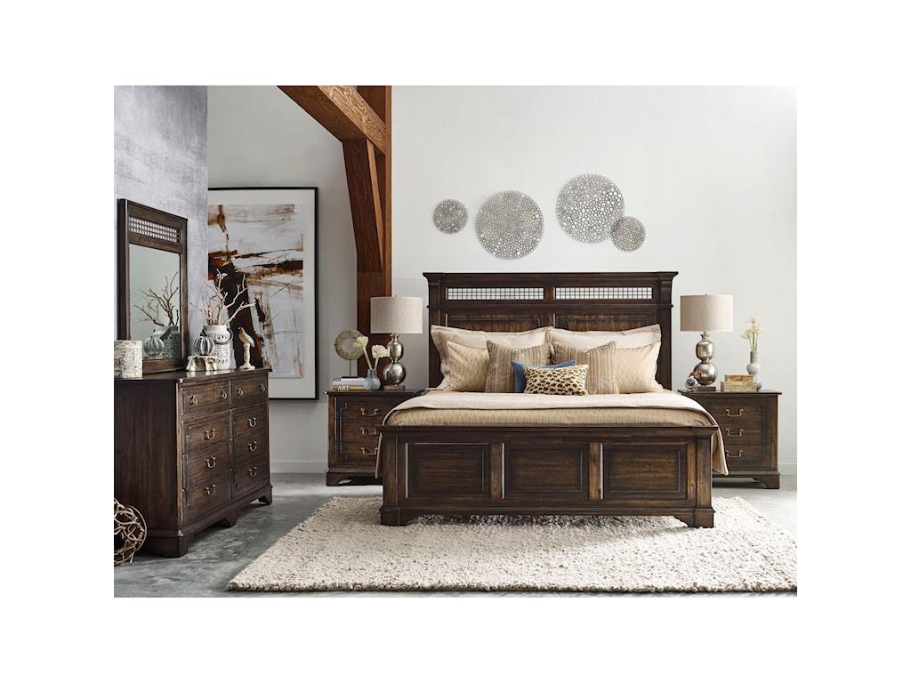 Kincaid Furniture WildfireDresser & Mirror Set