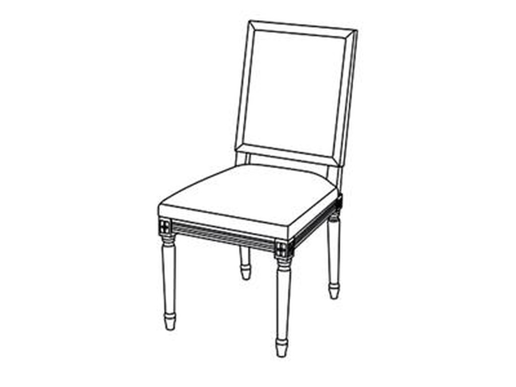 Kincaid Furniture Artisan's Shoppe DiningFrench Side Chair