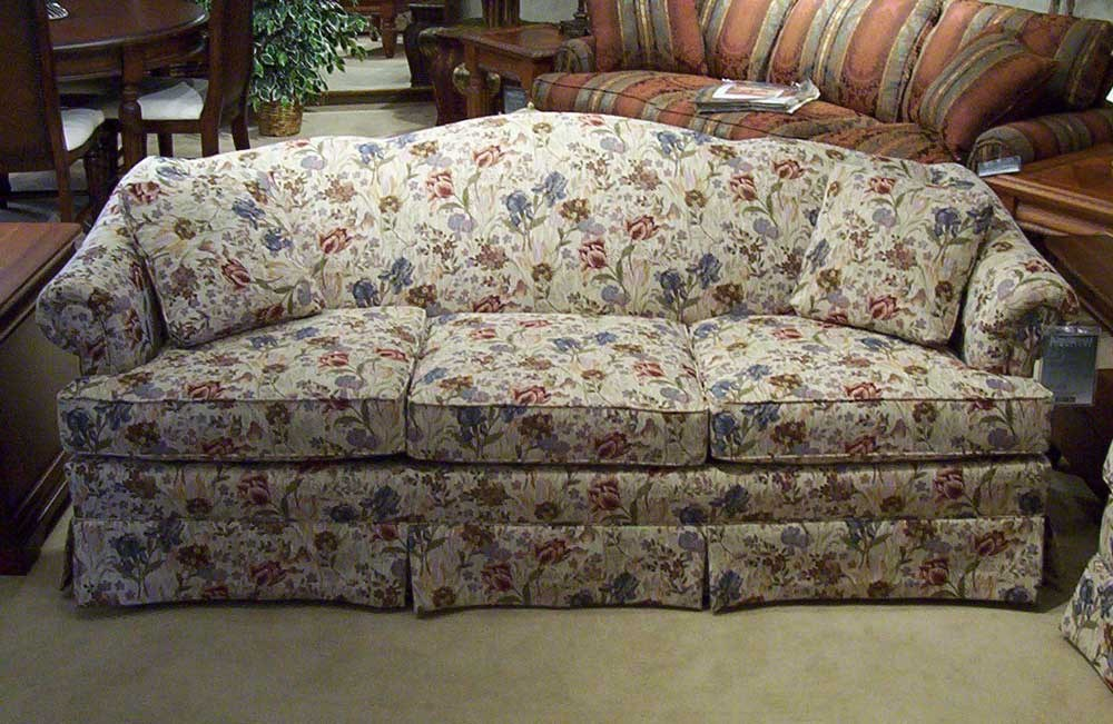 Biltmore 6800 85 Firm Cushion Camel Back Sofa Morris Home Sofa