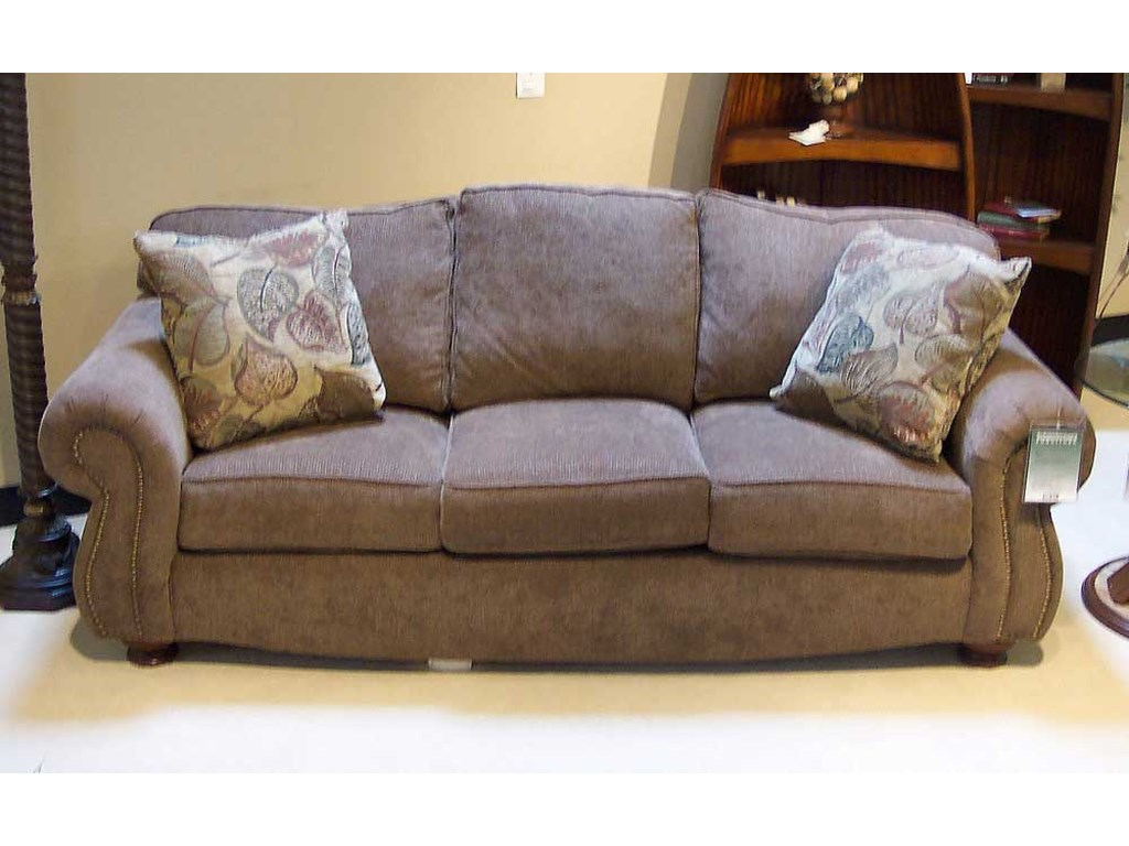 King Hickory Great Rooms 9500 88 Loose Pillow Back Sofa
