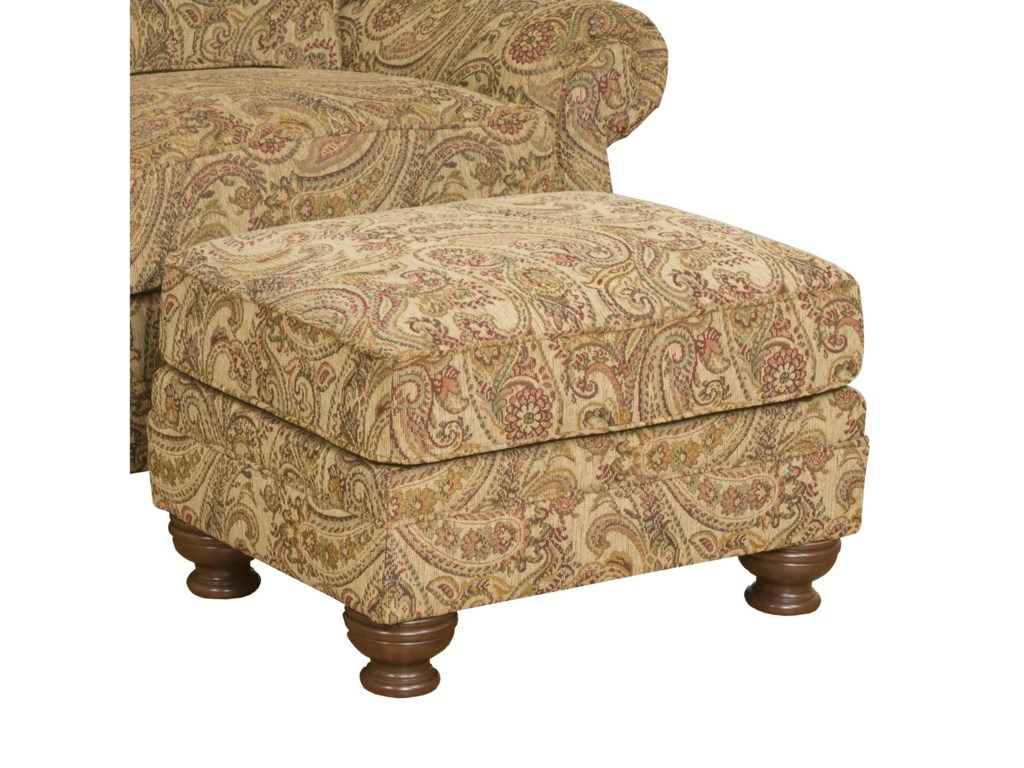 King Hickory Boston Boston Ottoman