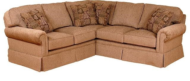 King Hickory Brighton Corner Sectional Sofa
