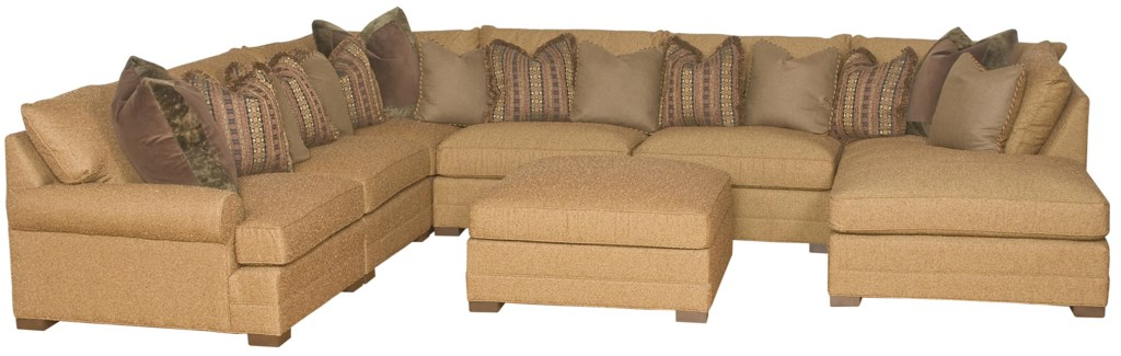 Biltmore Casbah Transitional U Shaped Sectional Sofa Morris Home