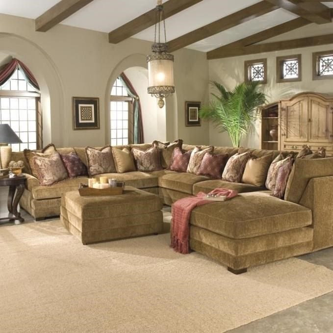 u shaped sectional sofa Biltmore Casbah Transitional U Shaped Sectional Sofa | Morris Home  u shaped sectional sofa