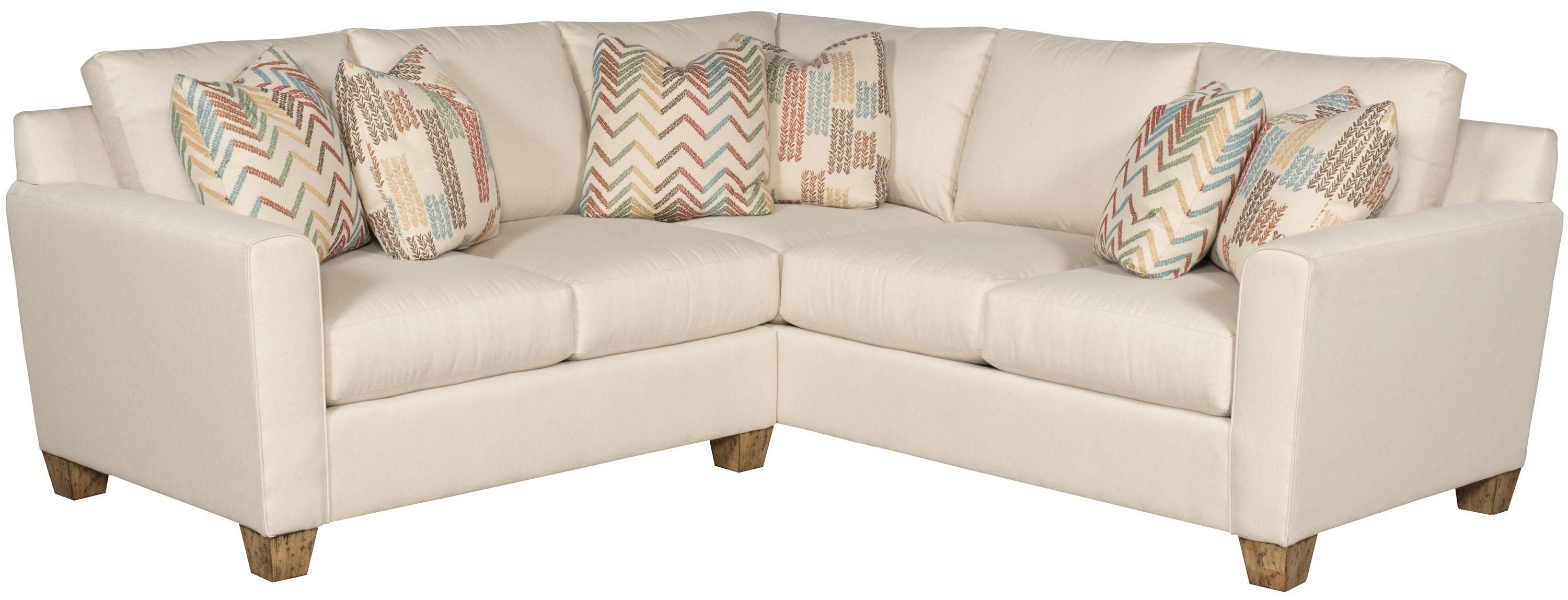 King Hickory Darby Customizable Sectional Sofa