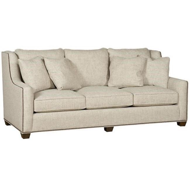 Ordinaire King Hickory Drake 3 Seater Sofa With Nailhead Trim