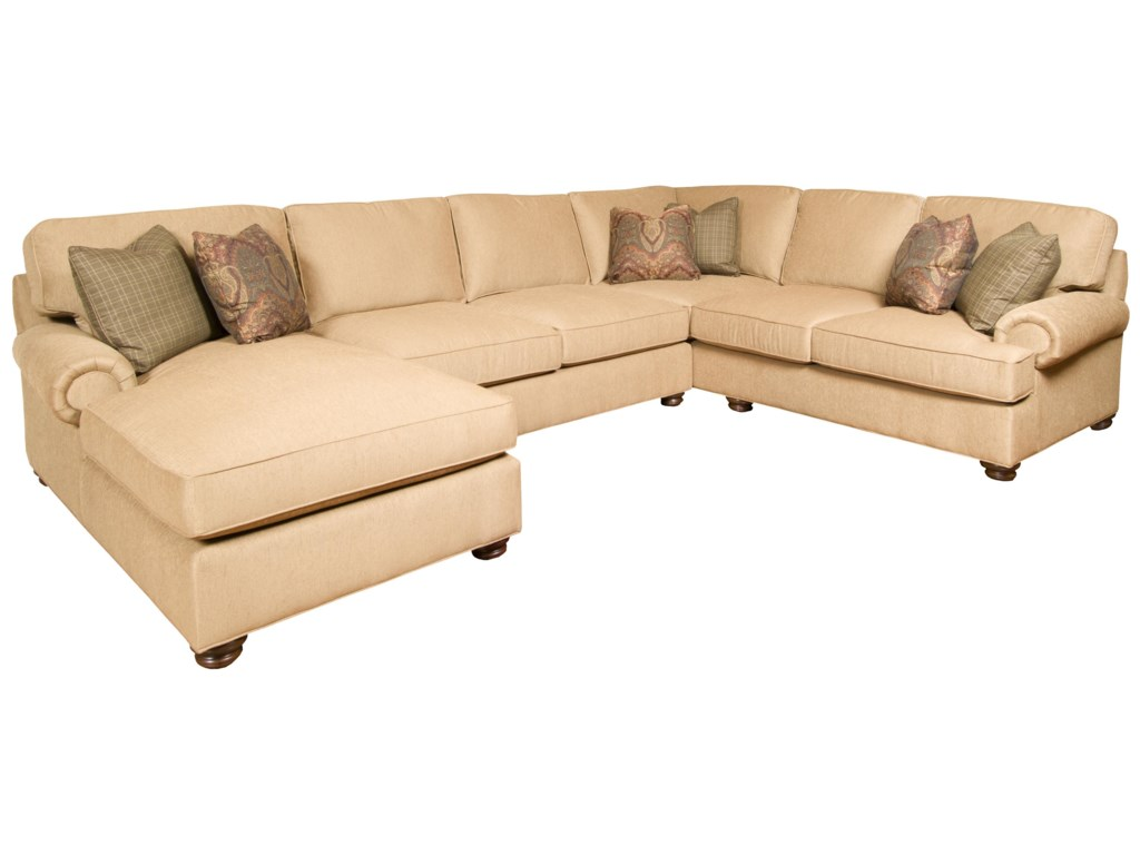 King Hickory Henson3- Piece Customizable Sectional