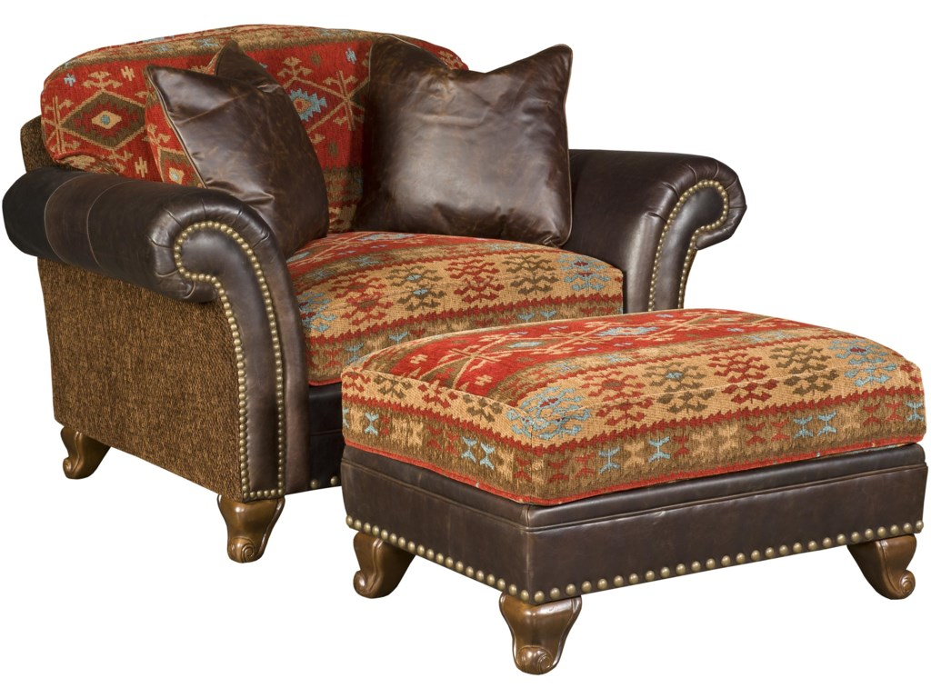 Shown with Coordinating Chair and a Half