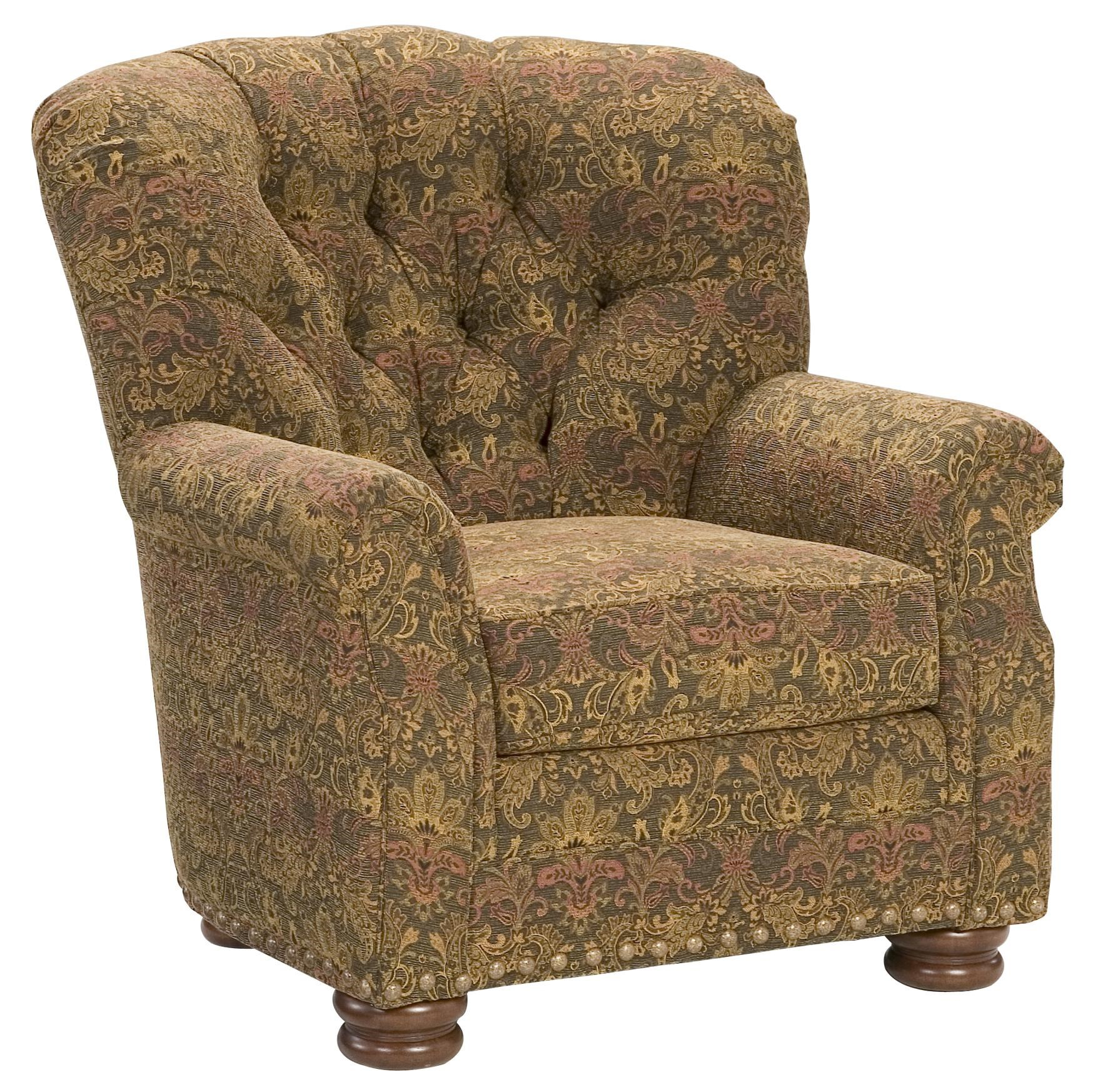 King Hickory King Hickory Accent Chairs And OttomansOscar Tufted Back Chair