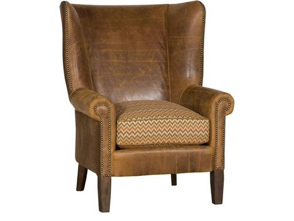 King Hickory Accent Chairs And Ottomans Sedgefield Wing Chair