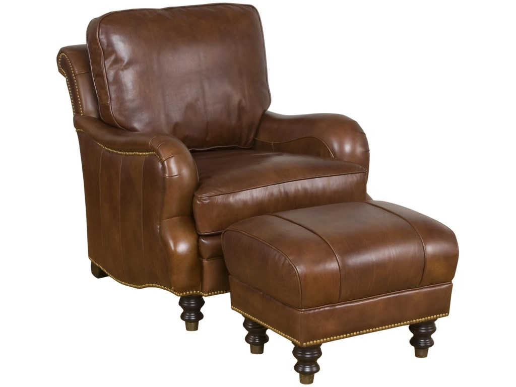 King Hickory Accent Chairs and OttomansLondon Accent Ottoman