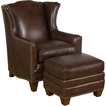 Athens Accent Chair & Ottoman