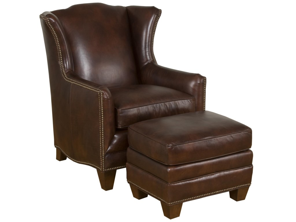 King Hickory Accent Chairs and OttomansAthens Accent Ottoman