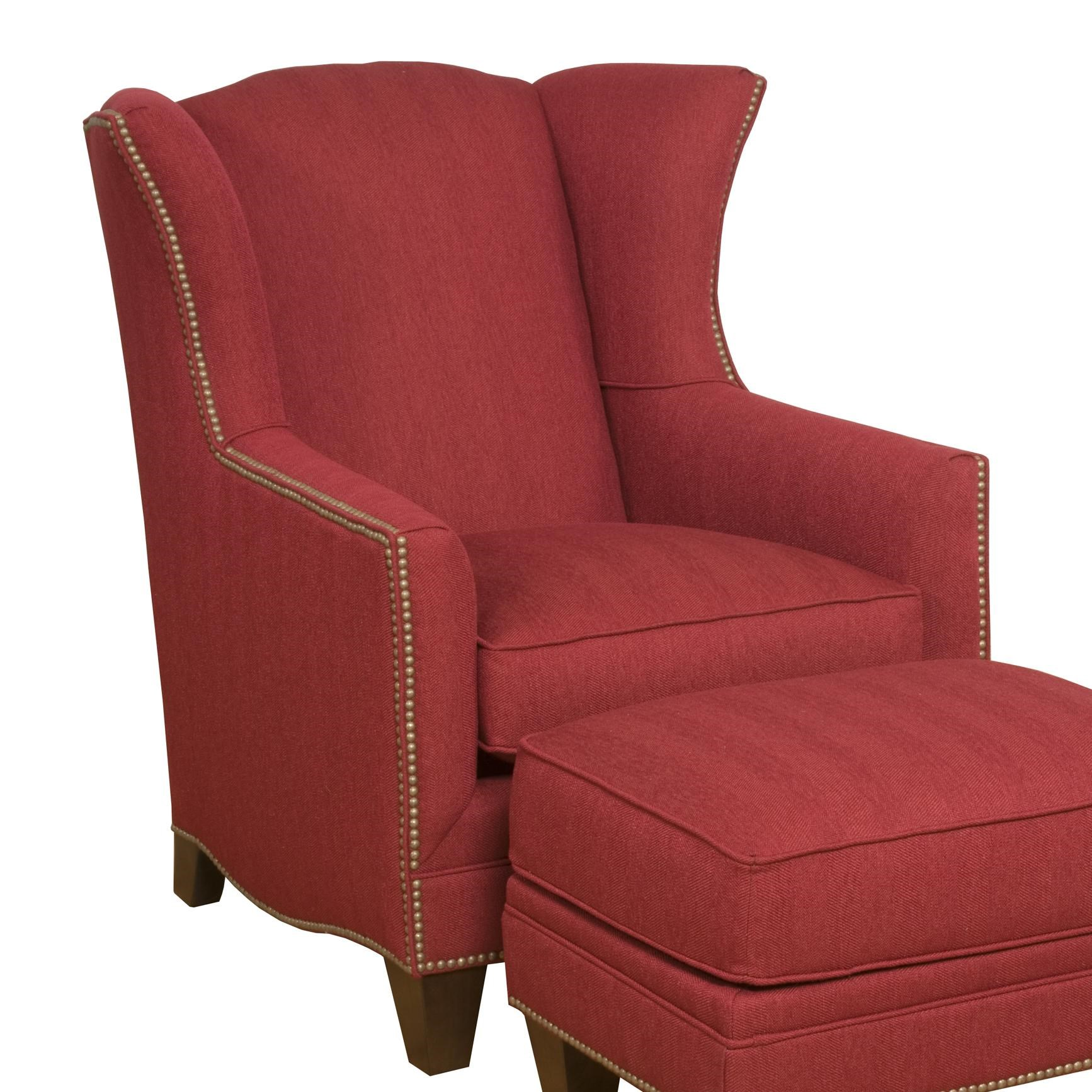 Biltmore King Hickory Accent Chairs And OttomansAthens Accent Chair ...