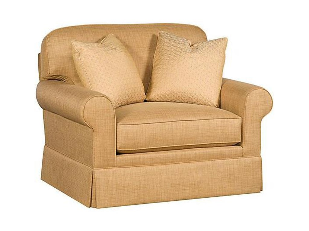 King Hickory WinstonTransitional Chair and a Half