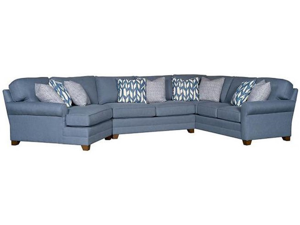 King Hickory Winstontransitional Sectional