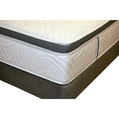 King Koil Affirm Twin Box Pillow Top Mattress and Foundation