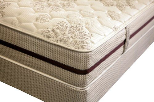 King Koil Vela California King Extra Firm Mattress and Foundation