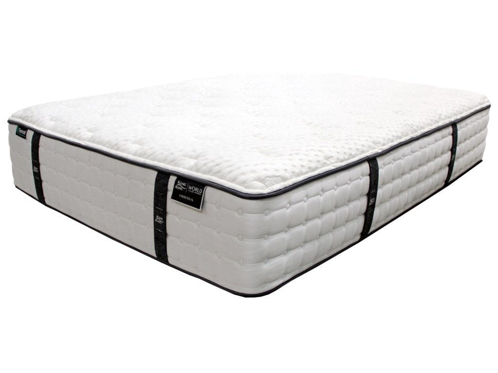 King Koil Odessa PKing Pocketed Coil Mattress Set