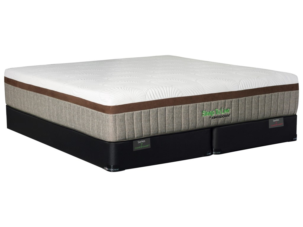 Kingsdown Comfort Smart Series 7Twin Cushion Firm Gel Memory Foam Set