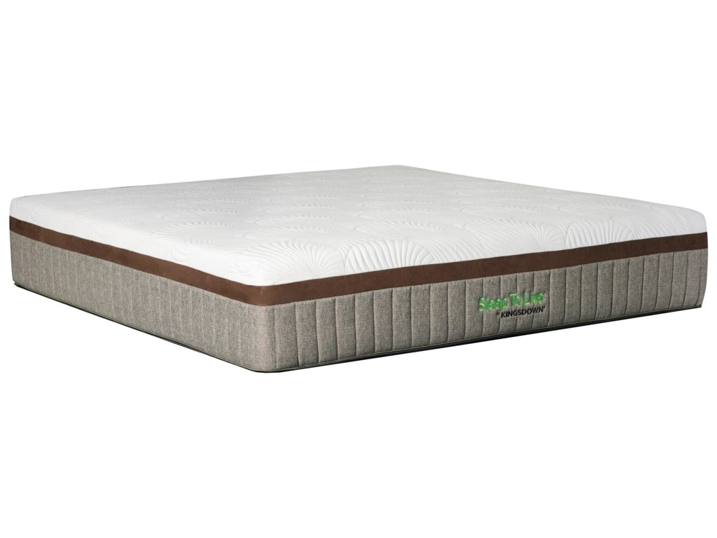 Kingsdown Comfort Smart Series 7King Cushion Firm Gel Memory Foam Mattress