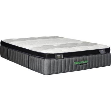 "Queen 15.5"" Firm Pillow Top Mattress"