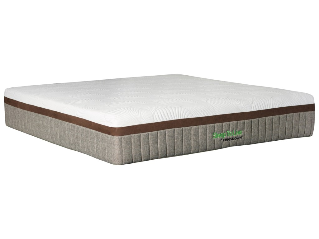 Kingsdown 700 Series 5810 GoldKing Extra Plush Memory Foam Mattress