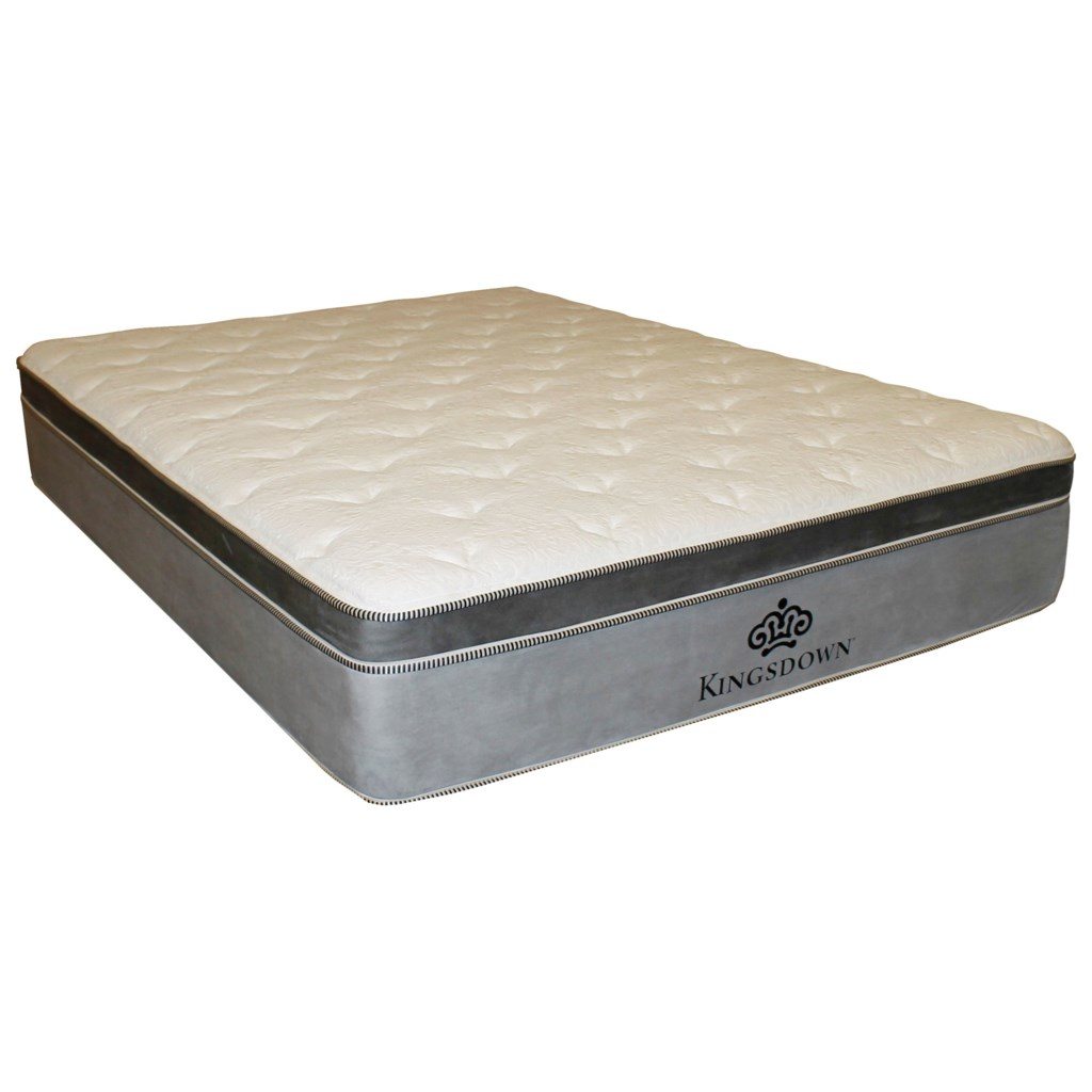 kingsdown anniversary platinum 3209 q queen pillow top mattress