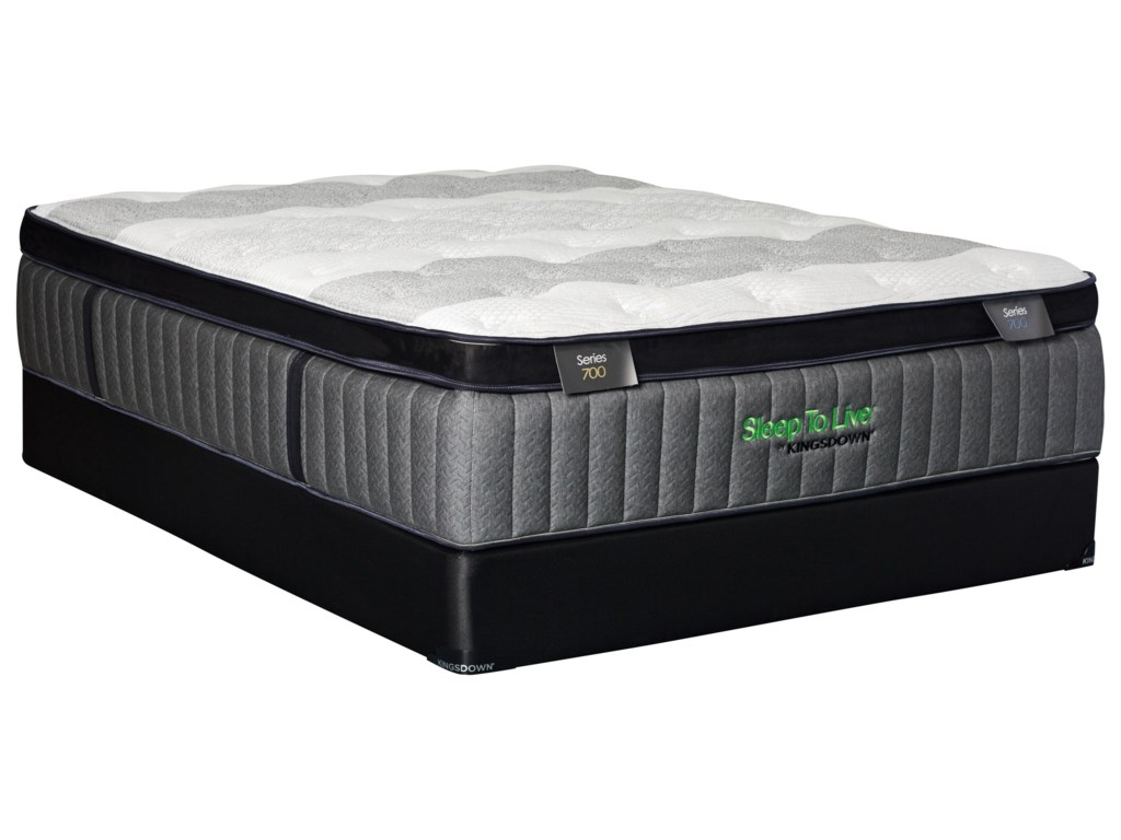 Sleep to Live Back Smart Series 700Queen Back Smart Series 700 Mattress Set