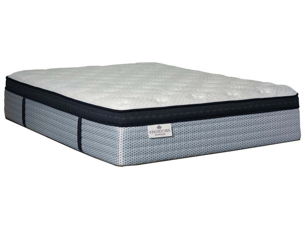 Kingsdown Brimsted ETQueen Pocketed Coil Mattress Set