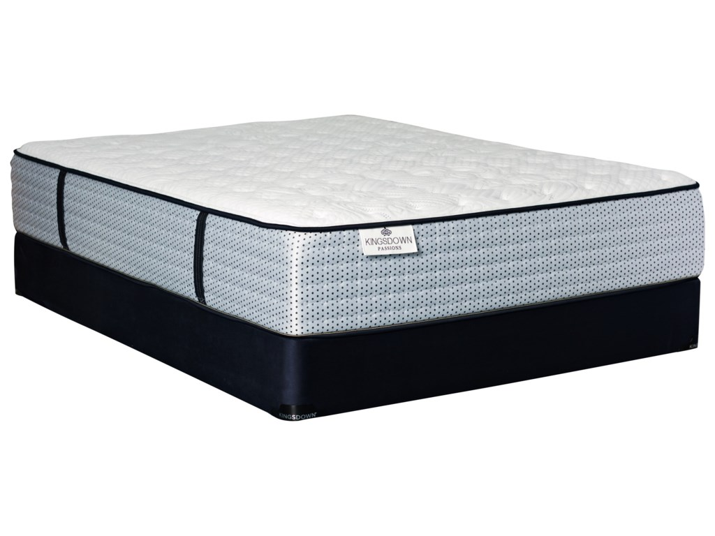 Kingsdown Le Claire TTKing Pocketed Coil Mattress Set