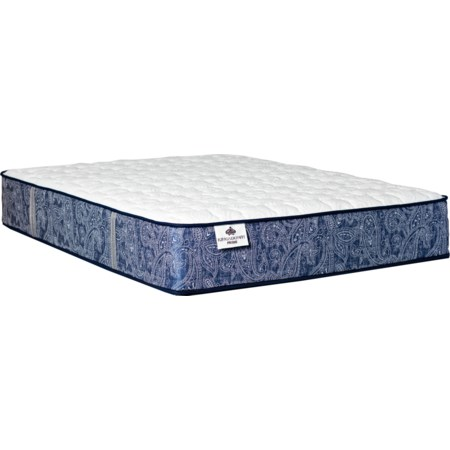 "Twin 13"" Plush Coil on Coil Mattress"