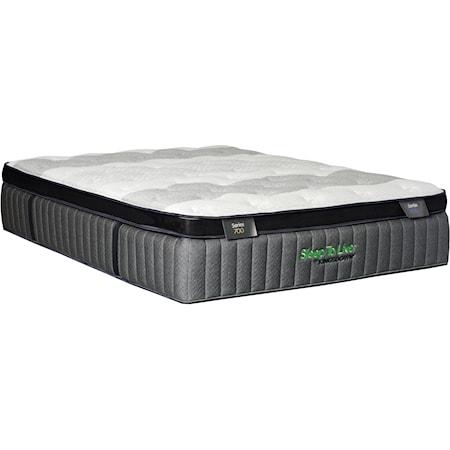 """King 15.5"""" Ultra Firm Pillow Top Mattress"""