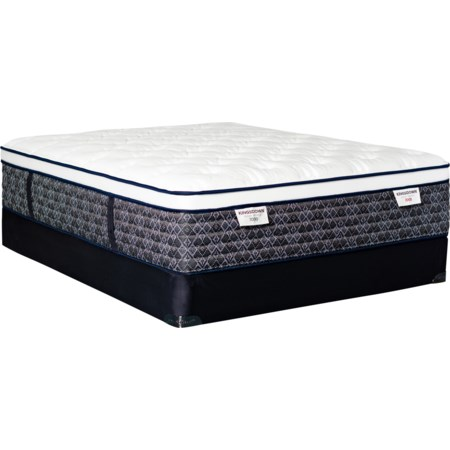 Queen Pocketed Coil Mattress LoPro Set