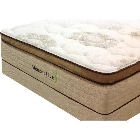 King Pocketed Coil Mattress