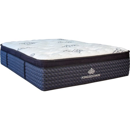 "Queen 17"" Plush Euro Top Mattress"