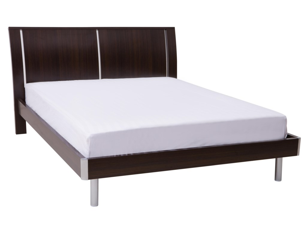 kinwai usa icon california king bed red knot platform bedslow profile beds - Bed Frame California King