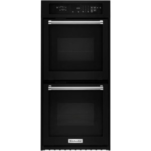 Kitchenaid Kodc304ebl 24 Electric Double Wall Oven With True Convection Furniture And Appliancemart Ovens Electric Double