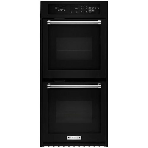 Kitchenaid 24 Electric Double Wall Oven With True Convection