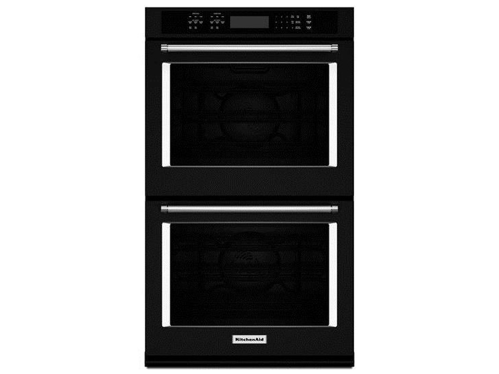Kitchenaid 30 10 Cu Ft Double Wall Oven With Even Heat True