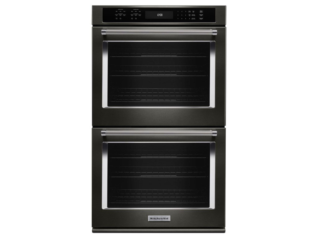 Kitchenaid 30 5 0 Cu Ft True Convection Double Wall Oven With