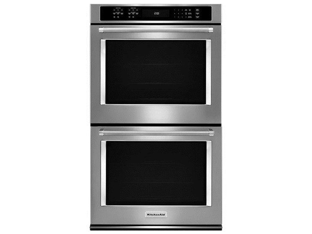 Kitchenaid Kode500ess30 10 Cu Ft Double Wall Oven With Even Heat