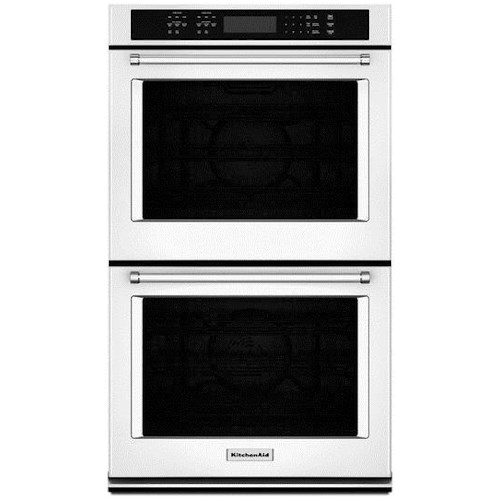 Kitchenaid 8 6 Cu Ft 27 Double Wall Oven With Even Heat True