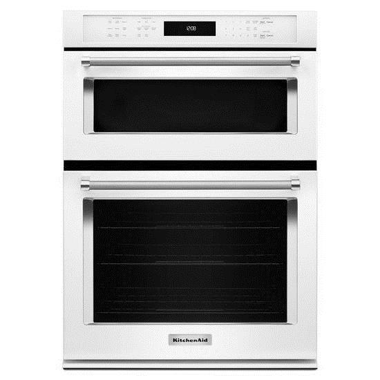 kitchenaid koce500ewh30 5 0 cu ft convection oven microwave rh furnitureappliancemart com