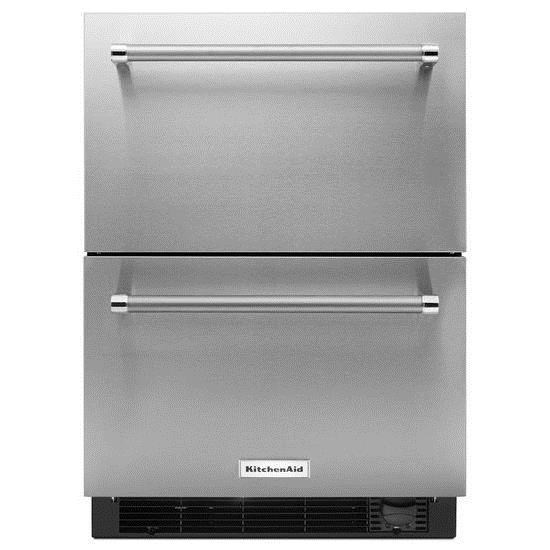 kitchenaid 24 panel ready refrigerator freezer drawer with rh colders com