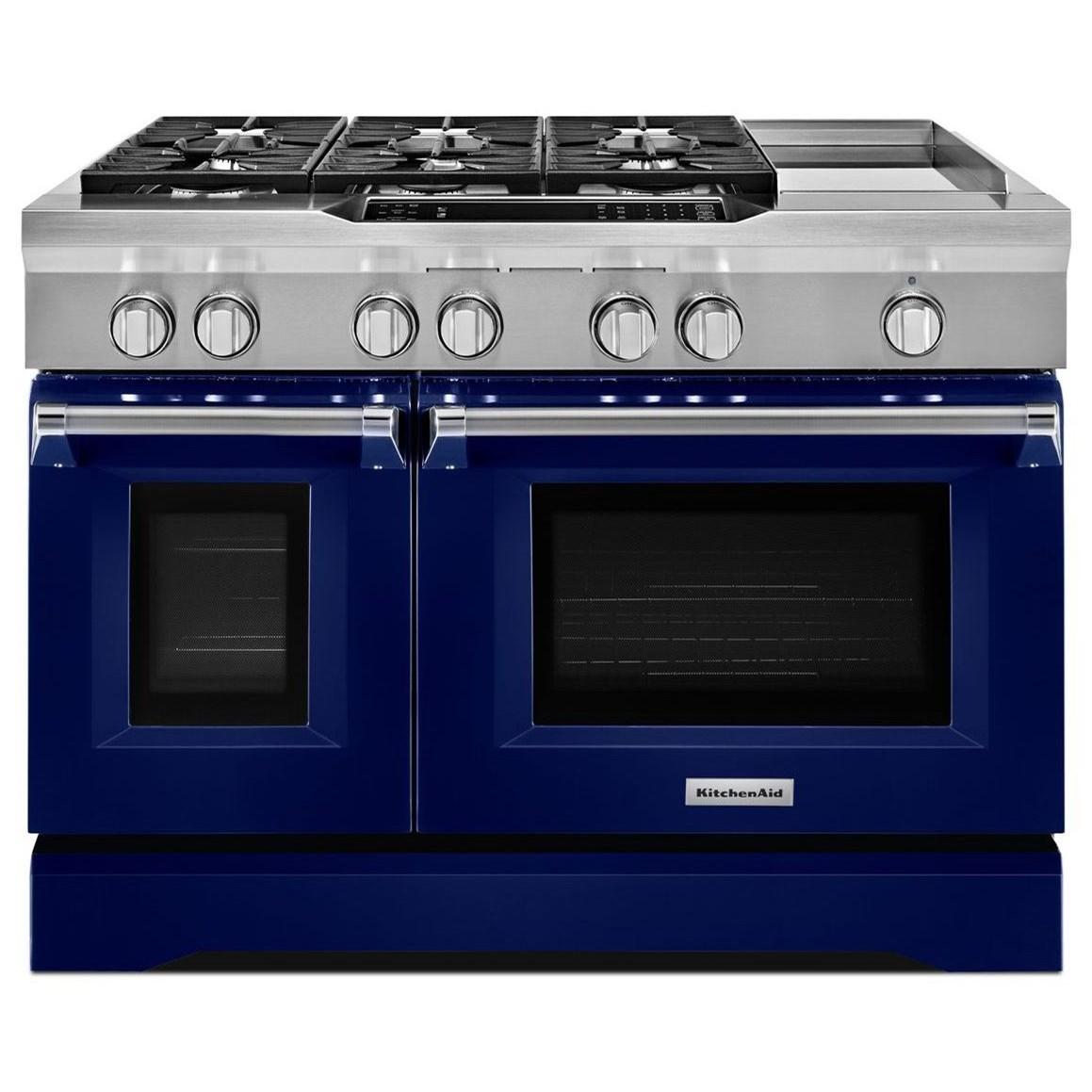 Delicieux KitchenAid Dual Fuel Ranges48