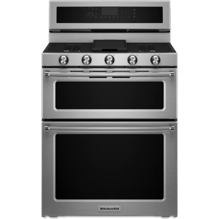 "30"" Dual Fuel Double Oven Convection Range"