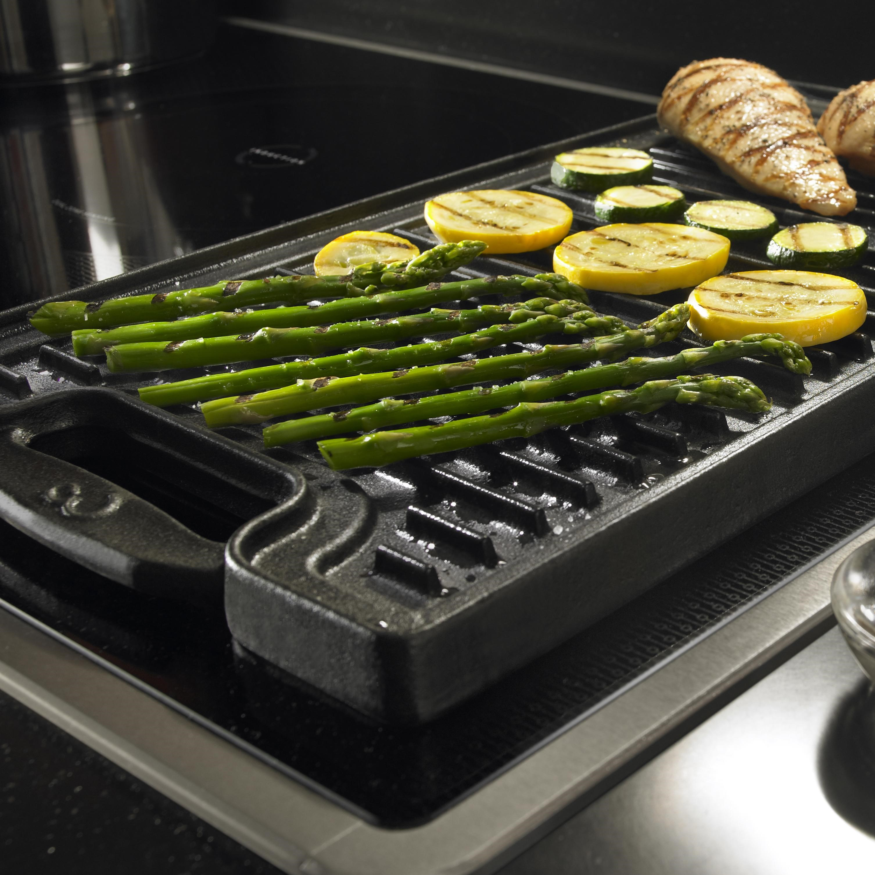 Induction Technology Generates Heat Directly In Magnetic Cookware; Two  Bridge Elements