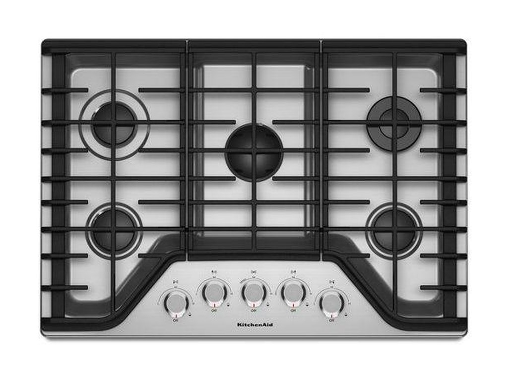 Kitchenaid Gas Cooktops30 5 Burner Cooktop