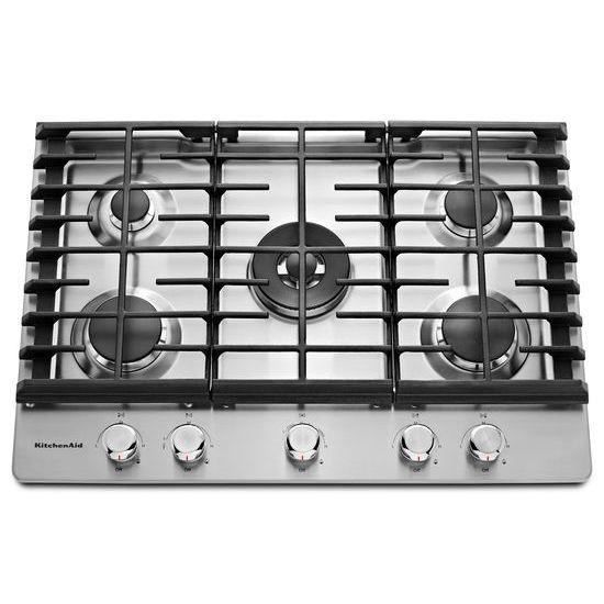 KitchenAid Gas Cooktops30u0027u0027 5 Burner Gas Cooktop ...